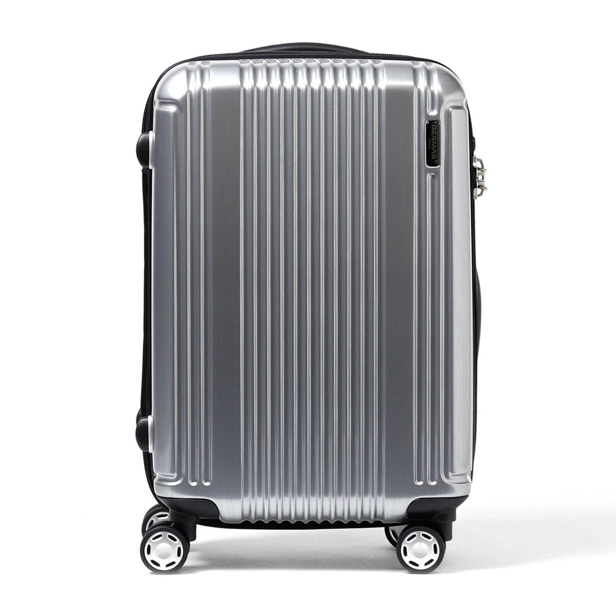 「正規品1年保証」バーマススーツケースBERMASバーマススーツケースプレステージ2PRESTIGEII機内持ち込みキャリーケースファスナー34L小型SサイズTSAロック1〜2泊程度4輪ハード軽量旅行カバン旅行バッグ60252(60262)