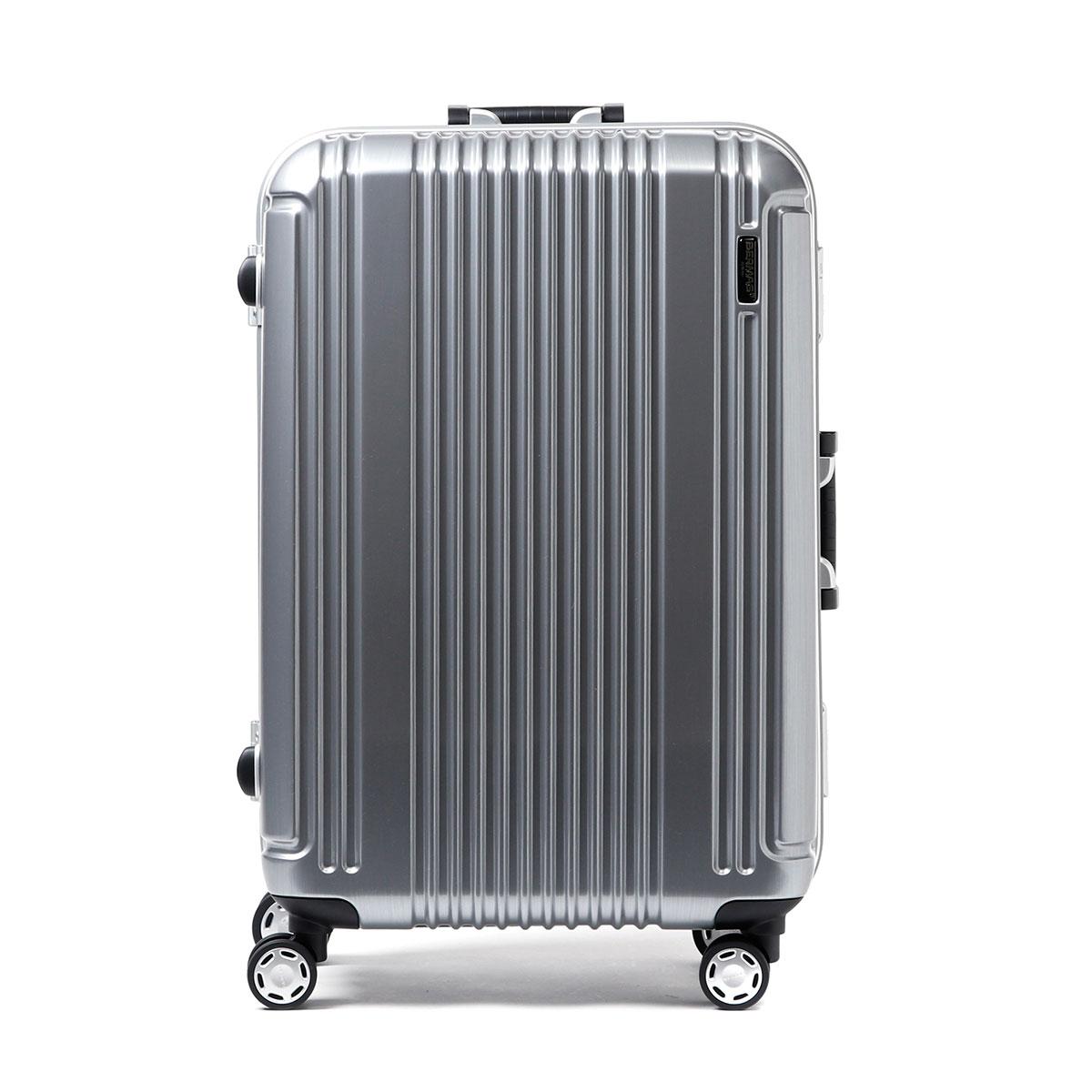 「正規品1年保証」バーマススーツケースBERMASバーマススーツケースプレステージ2PRESTIGEIIキャリーケースフレーム52L小型SサイズTSAロック3〜5泊程度4輪ハード軽量旅行カバン旅行バッグ60265