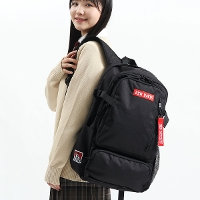 X-girl エックスガール MILLS LOGO ADVENTURE BACKPACK バックパック 36L 105205053001