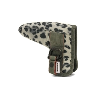 BRIEFING GOLF ブリーフィング ゴルフ PUTTER COVER FIDLOCK LEOPARD パターカバー BRG201G30