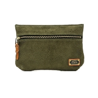 AS2OV アッソブ ATTACHMENT POUCH SUEDE LEATHER L サイズ 011926
