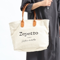 "Repetto レペット ""TOILE"" Canvas Tote トートバッグ 51202450740"